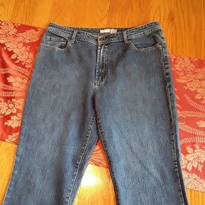 Chicos jeans boot cut/ silver series